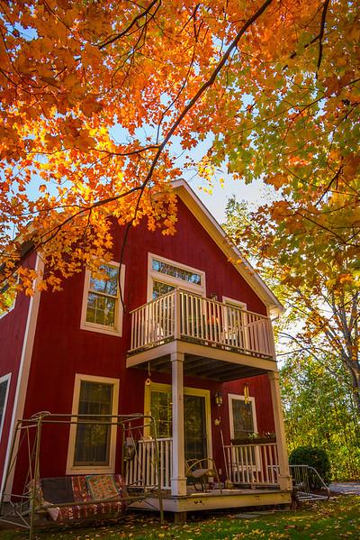 Vermont Lifestyle In Autumn