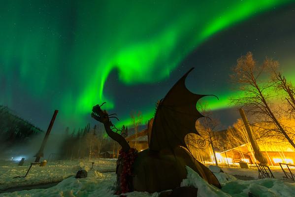 Dragons Breath -Chena Hot Springs Resort, Outside Fairbanks, Alaska