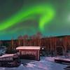 A Bit Of History Under The Lights -Chena Hot Springs Resort, Outside Fairbanks, Alaska