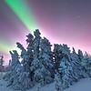 Ester Dome Northern Lights -Ester Dome, Fairbanks, Alaska