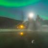 Mist Under The Lights -Chena Hot Springs Resort, Outside Fairbanks, Alaska
