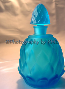 Blue Glass Bottle
