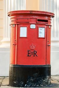 Traditional British Post Box