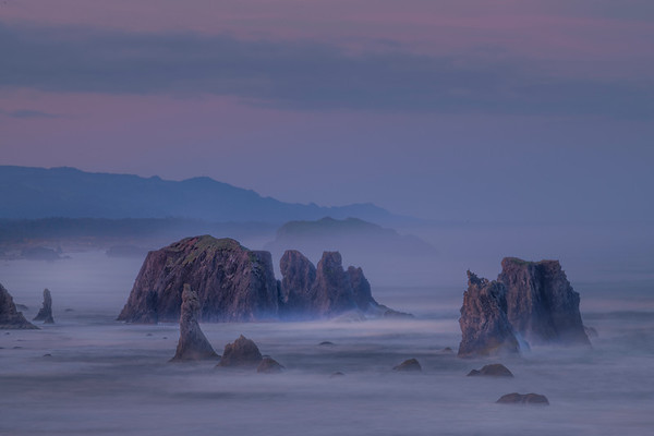 Fortress Of The Ocean - Bandon Beach, Oregon Coast