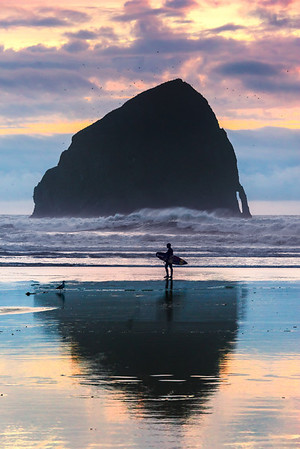 In Deep Solitude - Cape Kiwanda, Pacific City, Oregon Coast, Oregon