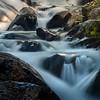 In Tight On Cascading Falls_ - Mount Rainier National Park, WA