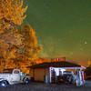 The Old Texaco Station At Night -The Palouse, Eastern Washington