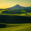 The Shadows And Light Leading Up To Steptoe Butte -The Palouse, Eastern Washington And Western Idaho