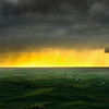 Storm Clouds On Palouse Horizon - The Palouse Region, Washington