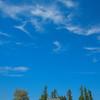Wispy Clouds Above Freeze Church - The Palouse, Western Idaho