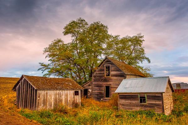 Trifecta Of fHomesteads _The Palouse_Eastern Washington