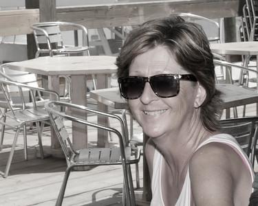 Carol at Port Aransas