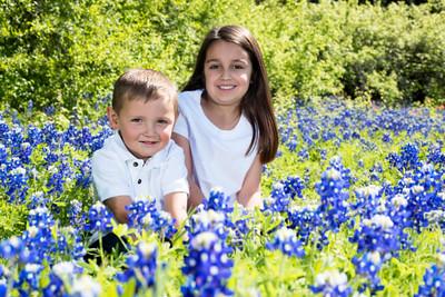 Jadyn and Travis - Bluebonnet Portraits 3-25-2016