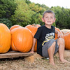 Travis in the Pumpkin Patch 10-27-2016
