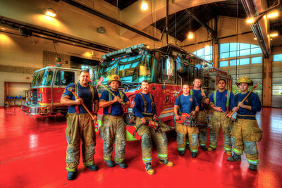 Station 1 B shift crew
