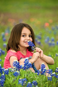 Jadyn in Bluebonnets
