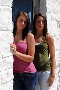 Senior Portraits of Kristen, Amy, and Alicia
