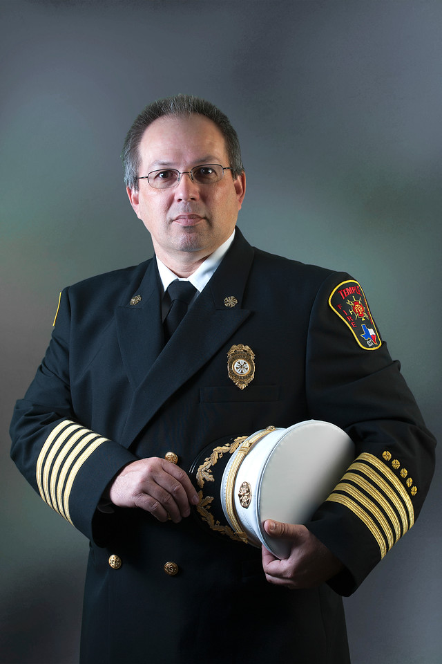 Fire Chief Mitch Randles