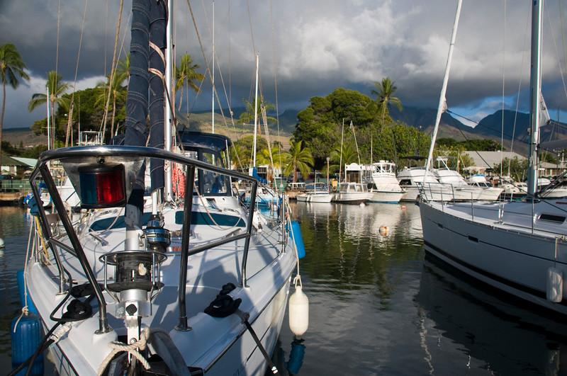 AHP Lahaina Harbor W Maui Mts