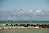 North Shore - Kite boarders abound