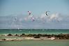 North Shore - Kite boarders abound