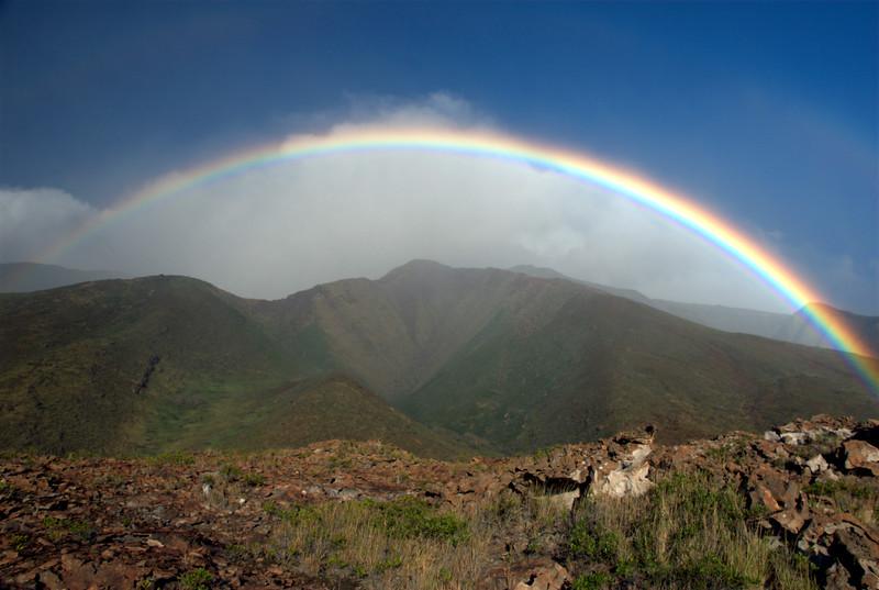 rainbow over west maui mountains-2-1