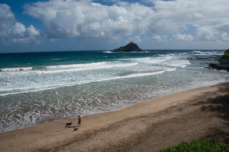 Hana - Alo Island bird sanctuary between Koki Beach and Hamoa Beach