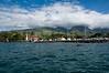 Lahaina Harbor Blue Sky