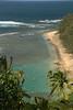 Kauai - Kee beach from the Na Pali trail