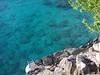 Kapalua - blue water awaits swimmers at Kapalua bay