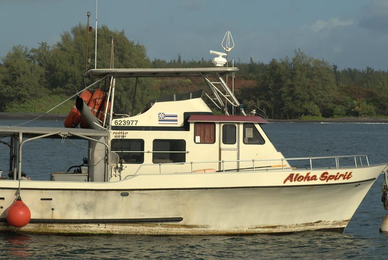 aloha spirit boat