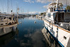 Lahaina - Lahaina Harbor sailboat and fishing boat