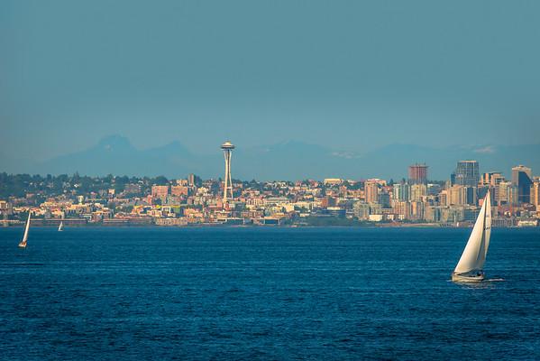 Summer Is Here - Seattle Waterfront - Seattle, WA