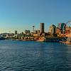 Summer Cruise Ships Docking In Seattle - Seattle Waterfront - Seattle, WA