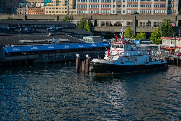 The Famous Ivars Restaurant - Seattle Waterfront - Seattle, WA
