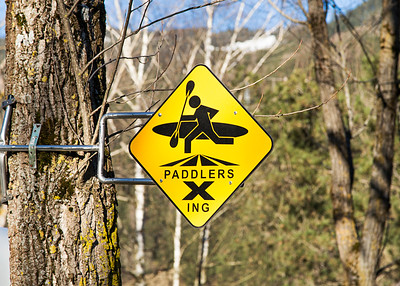 Paddlers Crossing