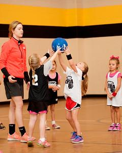 Crawford 1st Grade Girls Basketball 1-24-2015