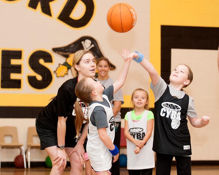Crawford First Grade Girls Basketball Game 1-17-2015