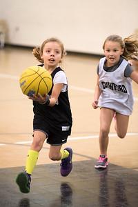 Crawford Girls Basketball - 1st and 2nd Grade  1-30-2016