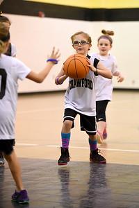 Crawford Girls Basketball - 1st and 2nd Grade - 1-9-2016