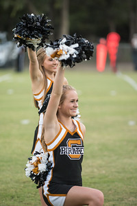 Crawford Homecoming Football Game vs. Meridian 9-15-2017