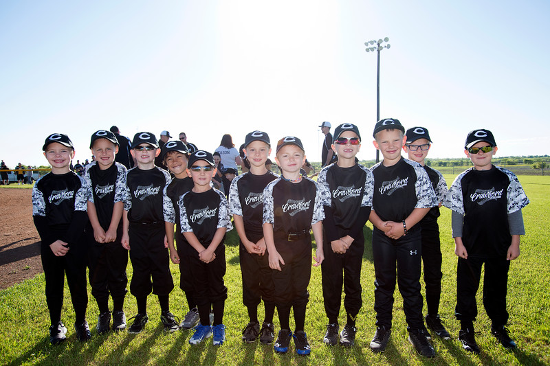 Crawford Little League Opening Day Ceremony 2017