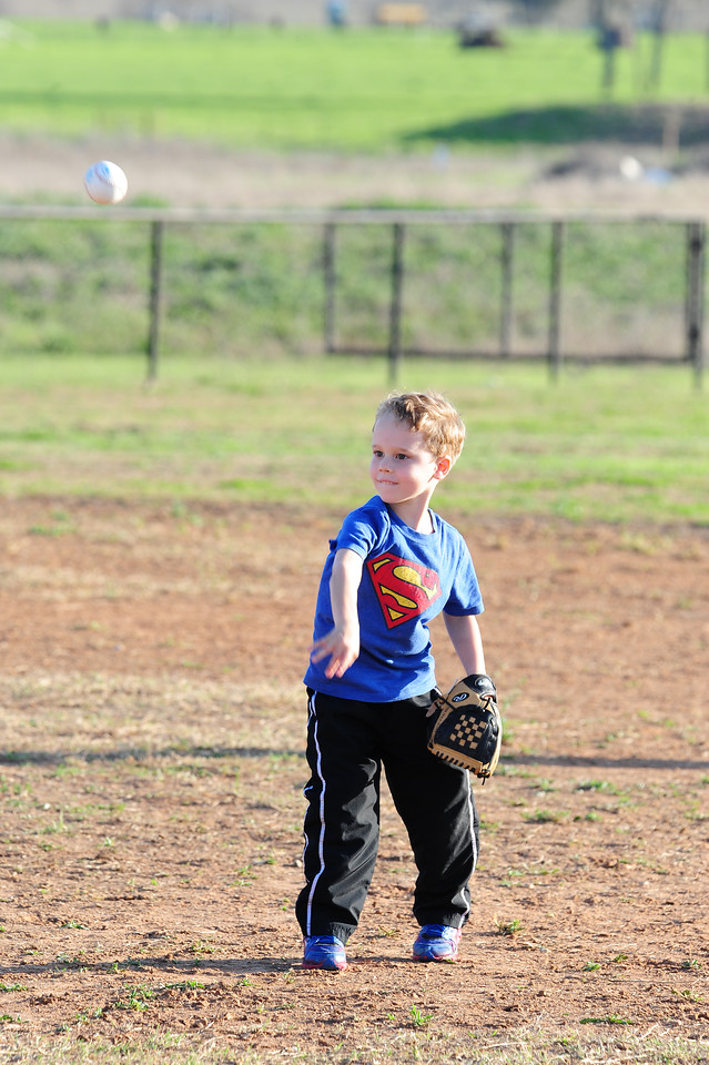 Crawford Tee-ball First Practice 3-16-2015
