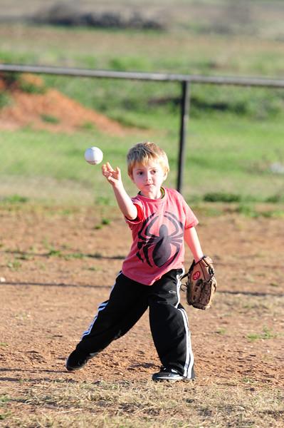 Crawford Tee-ball Practice 3-16-2015