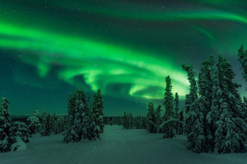 Images from around Alaska -Fairbanks, Mt Aurora Skiland, Alaska