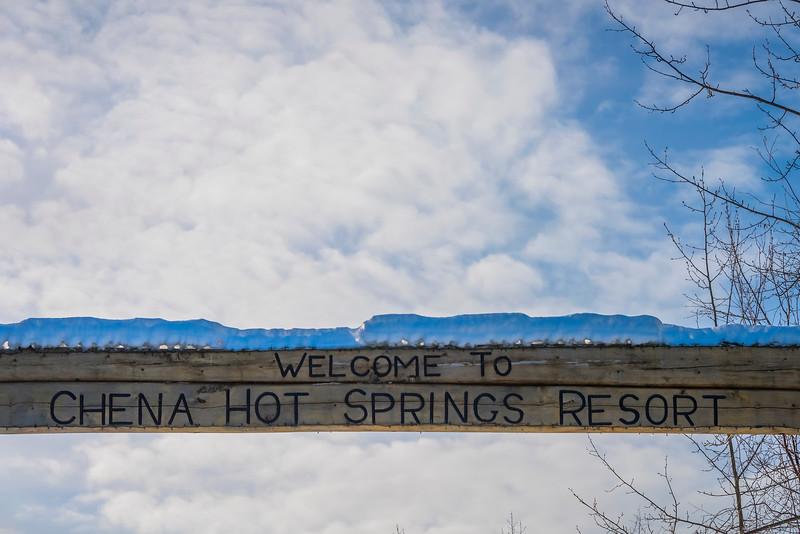 Welcome To Chena -Chena Hot Springs Resort, Fairbanks, Alaska