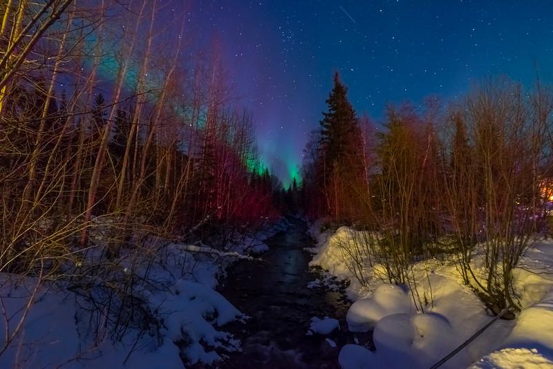 River To The Lights -Chena Hot Springs Resort, Fairbanks, Alaska