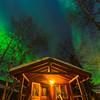 At The Base Of The Steps -Chena Hot Springs Resort, Outside Fairbanks, Alaska
