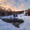 First Light On The Hills -Chena Hot Springs Resort, Outside Fairbanks, Alaska