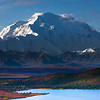 Denali In Close - Denali National Park, Alaska